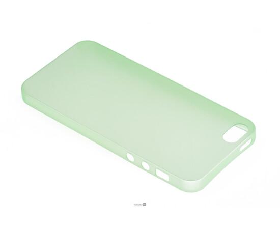 Чехол для iPhone 5/5S Colorful Slim Series 0.3 mm (Green), фото , изображение 3