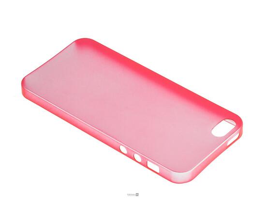 Чехол для iPhone 5/5S/SE Colorful Slim Series 0.3 mm (Red), фото , изображение 3