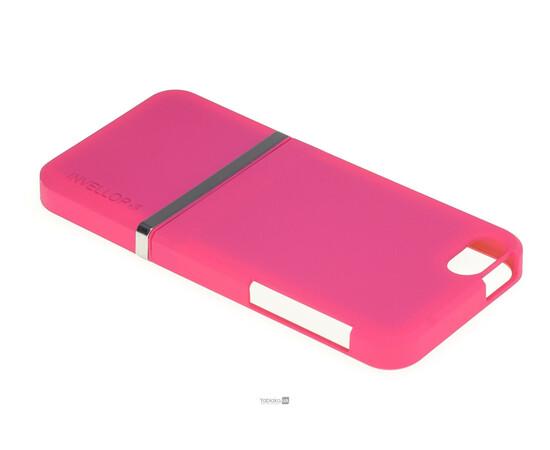Чехол для iPhone 5/5S/SE Invellop Slider Case Hard Cover Bumper (Hot Pink), фото , изображение 3