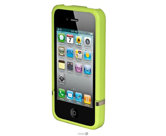 Чехол для iPhone 5/5S/SE Invellop slider Case Hard Cover Bumper (Green), фото , изображение 3