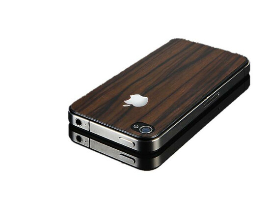 Защитная пленка для iPhone 4/4S SGP Skin Guard Wood Camagon Set Package (SGP06899), фото , изображение 3