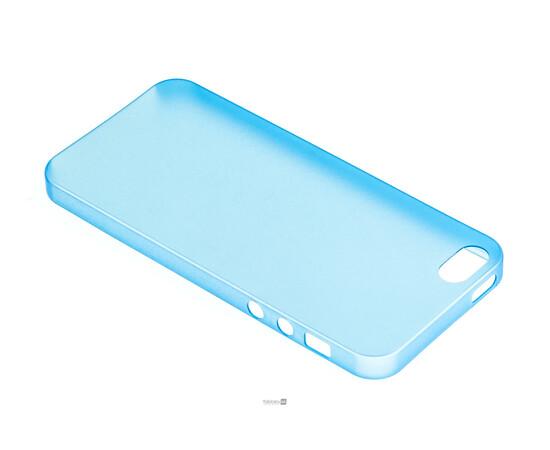 Чехол для iPhone 5/5S/SE Colorful Slim Series 0.3 mm (Blue), фото , изображение 3