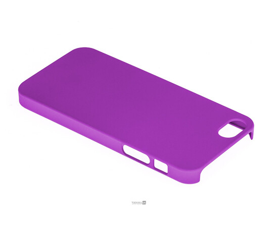 Чехол для iPhone 5/5S/SE KaysCase Slim hard shell (Purple), фото , изображение 3