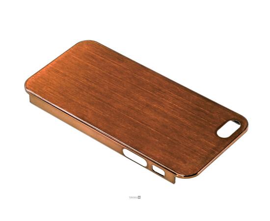 Чехол для iPhone 5/5S/SE Brushed Aluminum Case Slim Series 0.3 mm (Brown), фото , изображение 3