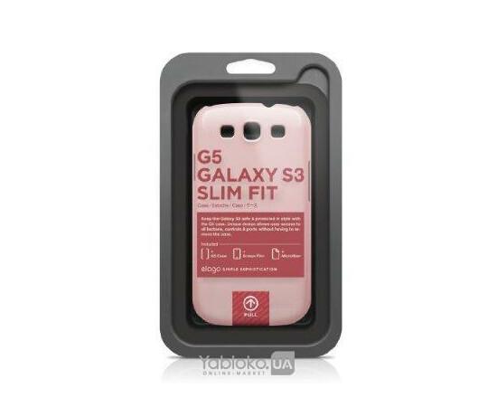 Чехол для Galaxy S3 Elago G5 Slim Fit Case (Pink), фото , изображение 2