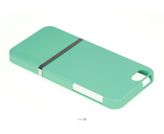 Чехол для iPhone 5/5S/SE Invellop Slider Case Hard Cover Bumper (Gray-Green), фото , изображение 3