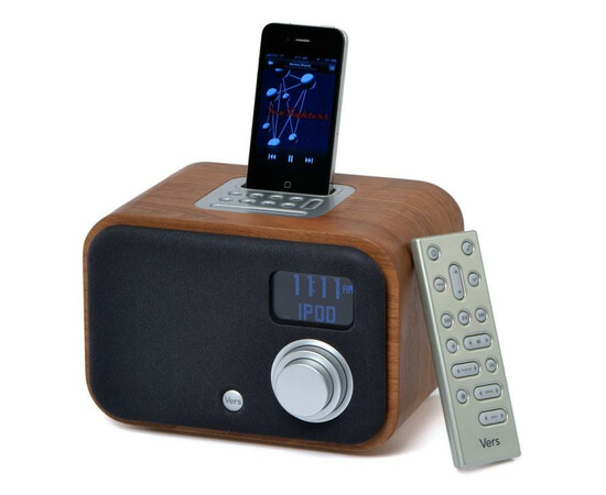 Акустическая система Vers 1.5R iPod Clock Radio (White Piano), фото , изображение 3