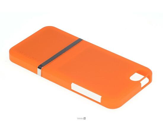 Чехол для iPhone 5/5S/SE Invellop slider Case Hard Cover Bumper (Orange), фото , изображение 3