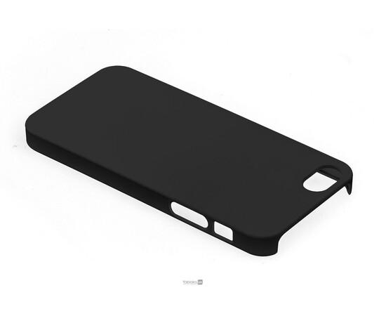Чехол для iPhone 5/5S/SE KaysCase Slim hard shell (Black), фото , изображение 3