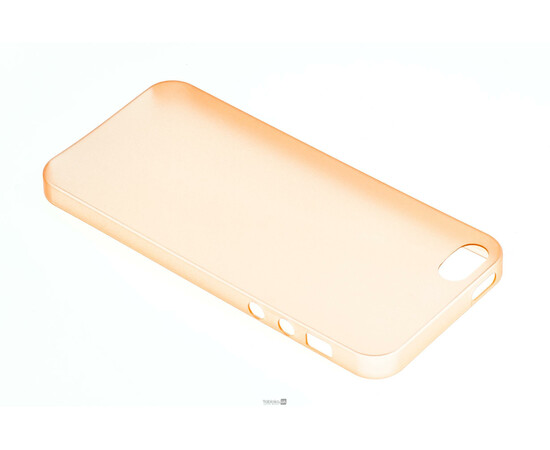 Чехол для iPhone 5/5S Colorful Slim Series 0.3 mm (Orange), фото , изображение 3