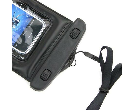Чехол-сумка водонепроницаемая IPx8 для iPhone/iPod (Black), фото , изображение 3