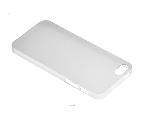 Чехол для iPhone 5/5S/SE Colorful Slim Series 0.3 mm (White), фото , изображение 3