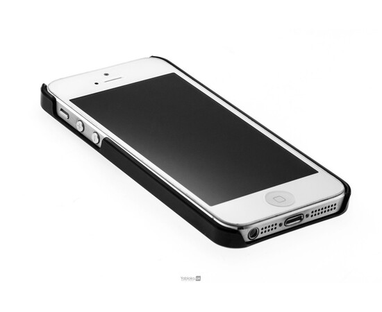 Чехол для iPhone 5/5S/SE Chanel Le Vernis Nail Colour №513 (Black Pearl), фото , изображение 4