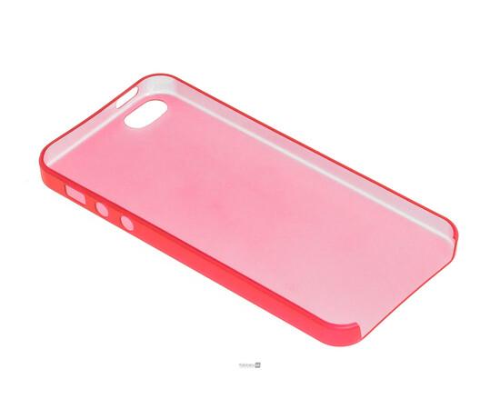 Чехол для iPhone 5/5S/SE Colorful Slim Series 0.3 mm (Red), фото , изображение 4