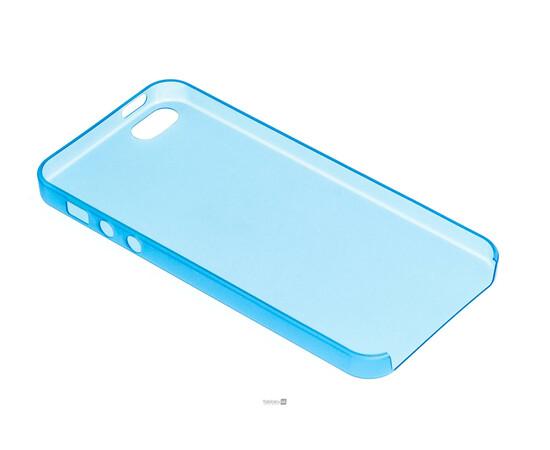 Чехол для iPhone 5/5S/SE Colorful Slim Series 0.3 mm (Blue), фото , изображение 4