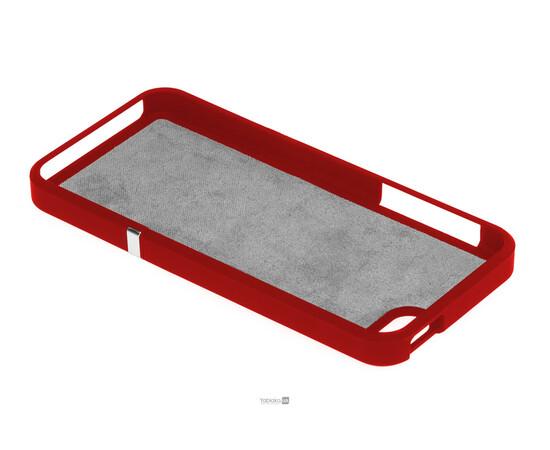 Чехол для iPhone 5/5S/SE Invellop Slider Case Hard Cover Bumper (Red), фото , изображение 4