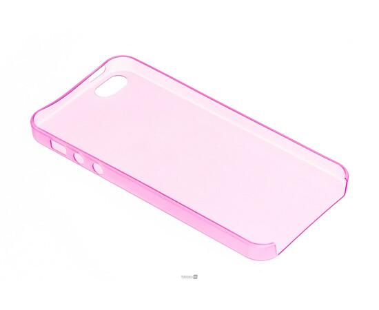 Чехол для iPhone 5/5S/SE Colorful Slim Series 0.3 mm (Pink), фото , изображение 4