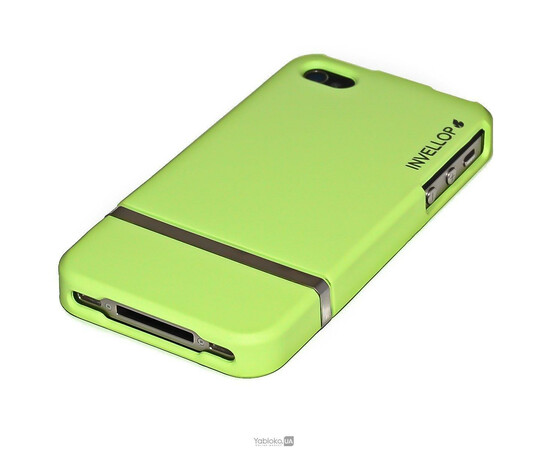 Чехол для iPhone 5/5S/SE Invellop slider Case Hard Cover Bumper (Green), фото , изображение 4