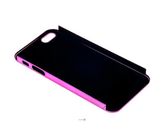 Чехол для iPhone 5/5S/SE Brushed Aluminum Case Slim Series 0.3 mm (Pink), фото , изображение 4