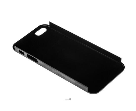 Чехол для iPhone 5/5S/SE Brushed Aluminum Case Slim Series 0.3 mm (Black), фото , изображение 4