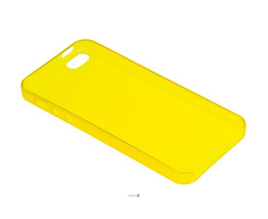 Чехол для iPhone 5/5S/SE Colorful Slim Series 0.3 mm (Yellow), фото , изображение 4