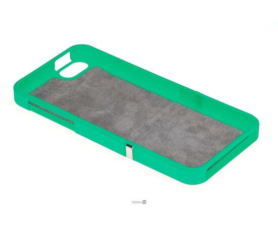Чехол для iPhone 5/5S/SE Invellop Slider Case Hard Cover Bumper (Gray-Green), фото , изображение 4