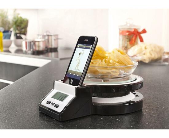 Акустическая система для iPod Ade germany Docking Station and Kitchen Scale, фото , изображение 4