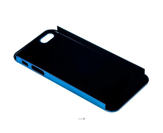 Чехол для iPhone 5/5S/SE Brushed Aluminum Case Slim Series 0.3 mm (Blue), фото , изображение 4