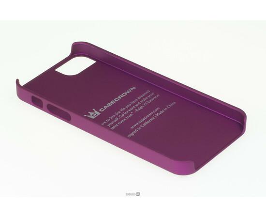 Чехол для iPhone 5/5S/SE CaseCrown Glider Case (Purple), фото , изображение 4