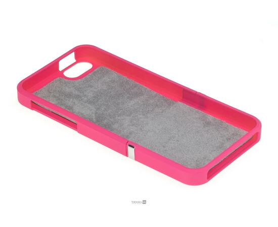 Чехол для iPhone 5/5S/SE Invellop Slider Case Hard Cover Bumper (Hot Pink), фото , изображение 4