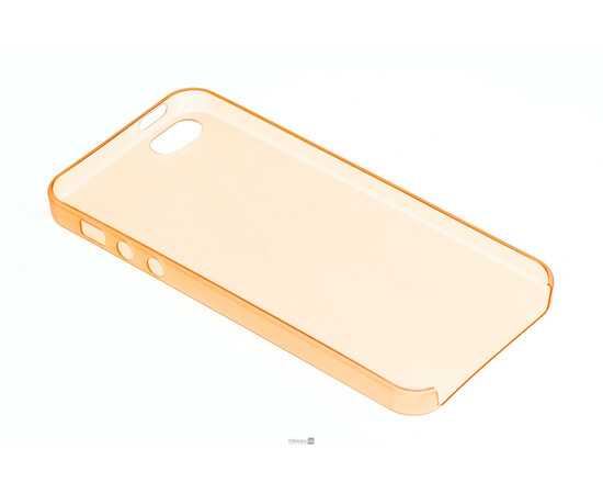 Чехол для iPhone 5/5S Colorful Slim Series 0.3 mm (Orange), фото , изображение 4