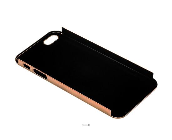 Чехол для iPhone 5/5S/SE Brushed Aluminum Case Slim Series 0.3 mm (Brown), фото , изображение 4