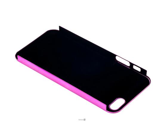 Чехол для iPhone 5/5S/SE Brushed Aluminum Case Slim Series 0.3 mm (Pink), фото , изображение 5