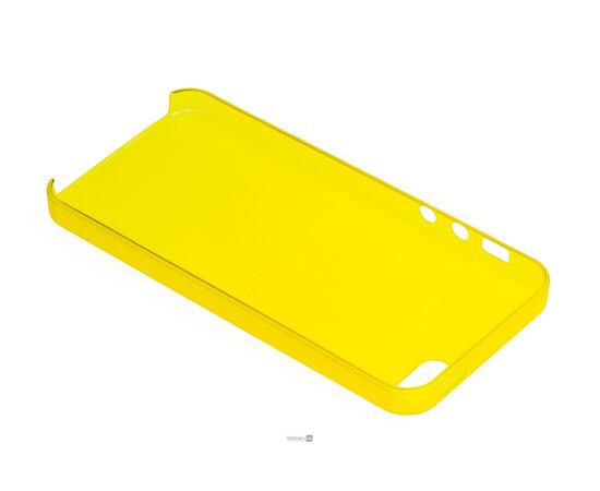 Чехол для iPhone 5/5S/SE Colorful Slim Series 0.3 mm (Yellow), фото , изображение 5