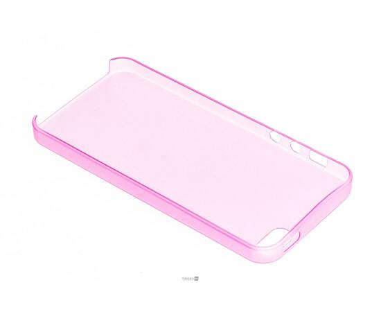 Чехол для iPhone 5/5S/SE Colorful Slim Series 0.3 mm (Pink), фото , изображение 5