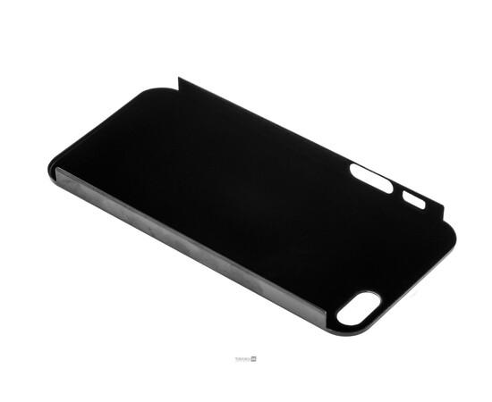 Чехол для iPhone 5/5S/SE Brushed Aluminum Case Slim Series 0.3 mm (Black), фото , изображение 5