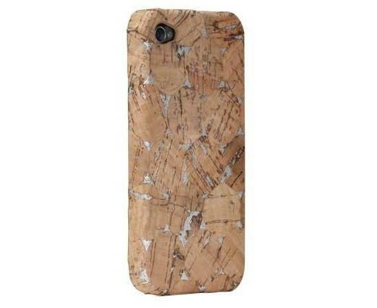 Чехол для iPhone 4/4S Case-Mate Lisboa (Cork Silver), фото , изображение 5