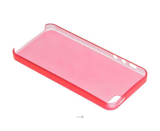 Чехол для iPhone 5/5S/SE Colorful Slim Series 0.3 mm (Red), фото , изображение 5