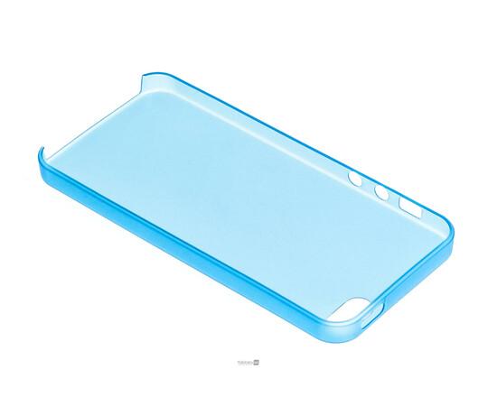 Чехол для iPhone 5/5S/SE Colorful Slim Series 0.3 mm (Blue), фото , изображение 5