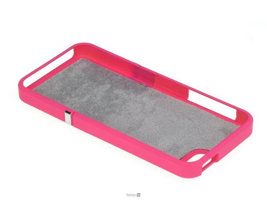 Чехол для iPhone 5/5S/SE Invellop Slider Case Hard Cover Bumper (Hot Pink), фото , изображение 5