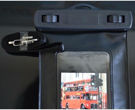 Чехол-сумка водонепроницаемая IPx8 для iPhone/iPod (Black), фото , изображение 5