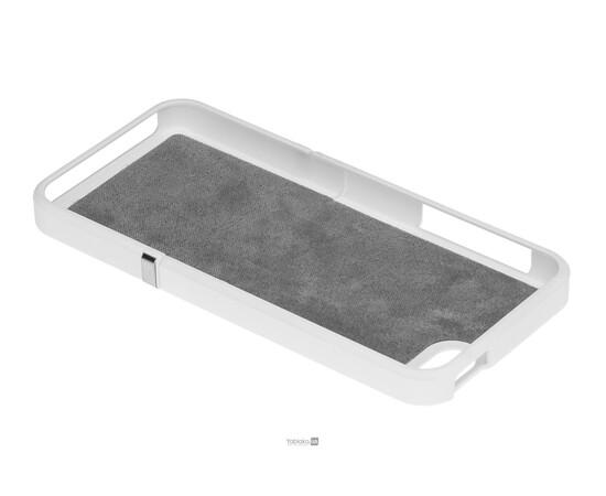 Чехол для iPhone 5/5S/SE Invellop Slider Case Hard Cover Bumper (White), фото , изображение 5