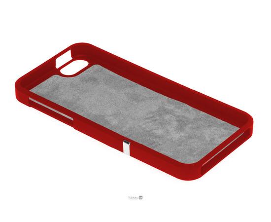 Чехол для iPhone 5/5S/SE Invellop Slider Case Hard Cover Bumper (Red), фото , изображение 5