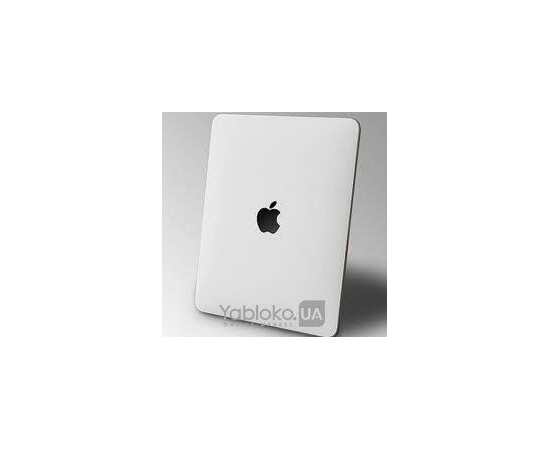 Кожанная наклейка для iPad SGP Skin Guard White, фото