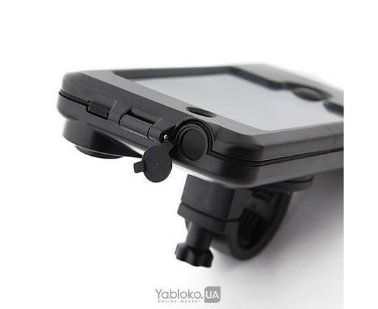 Велосипедный чехол-держатель для iPhone 4/4S Glory (Black), фото