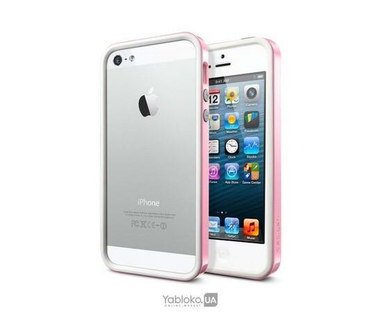 Чехол-бампер для iPhone 4/4S SGP Neo Hybrid EX Sherbet Pink (SGP09772), фото