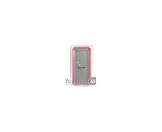 Чехол-бампер для iPhone 5/5S Yiping Plastic (Pink), фото