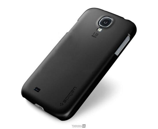 Чехол для Samsung Galaxy S4 Ultra Fit Series Smooth Black (SGP10195), фото