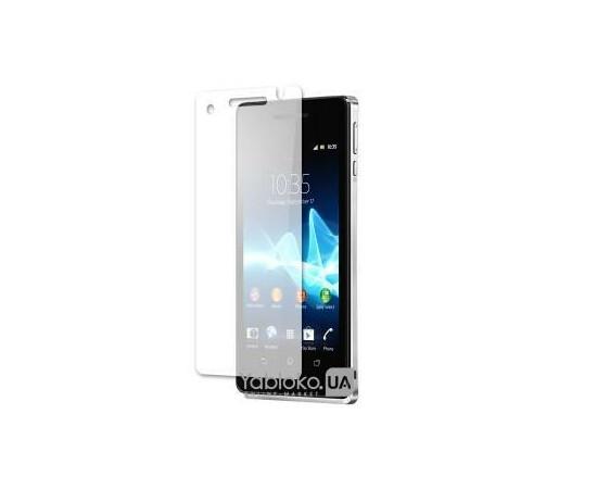Защитная пленка для Sony Xperia V Anti-Scratch (Clear), фото