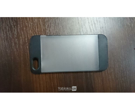 Чехол для iPhone 5/5S Yiping Plastic Glass (Black), фото